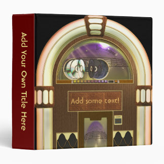 "Jukebox 1.5"" Avery Binder"