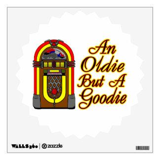 Jukebox An Oldie But A Goodie Wall Decal