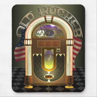 Jukebox Old Rocker Mousepad