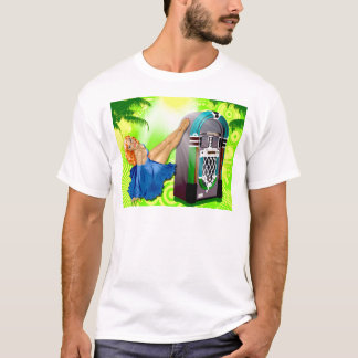 Jukebox Pin Up Girl T-Shirt
