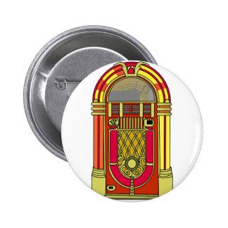 Jukebox Pinback Button