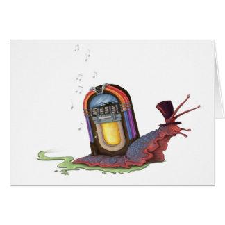 Jukebox Snail Cards