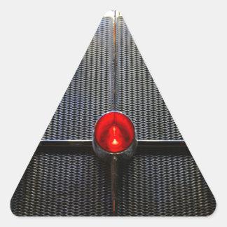 Jukebox Triangle Sticker