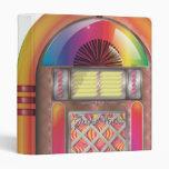 Jukebox Vinyl Binder