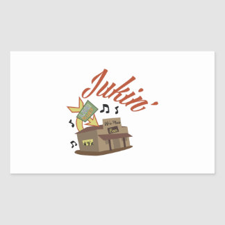 Jukin Building Rectangular Sticker