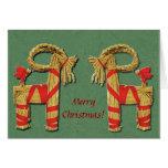 Jul Bok Christmas Goat Greeting Cards