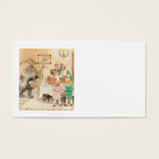 Jul Goat at the Christmas Table Business Card