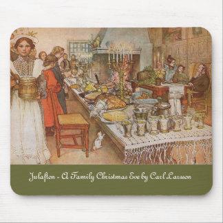 Julaftoner - Nochebuena de Carl Larsson Alfombrillas De Ratón