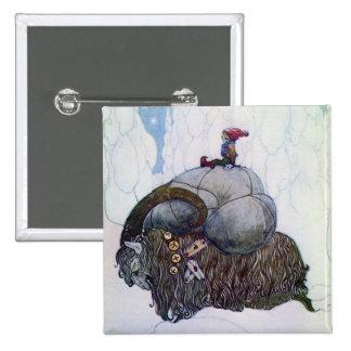 Julbocken - la cabra del navidad pin