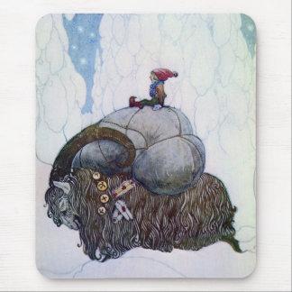 Julbocken - The Christmas Goat Mouse Pad