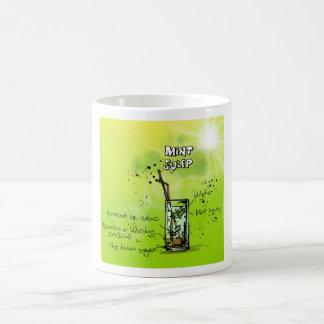 Julep de menta - regalo del cóctel taza básica blanca