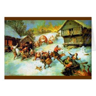 Julereia - Christmas Mischief Makers Greeting Card