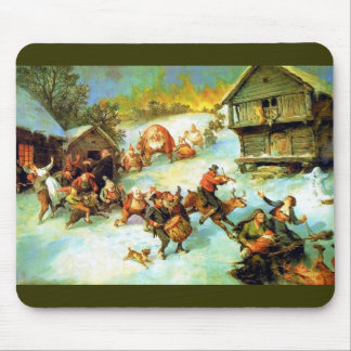 Julereia - Christmas Mischief Makers Mouse Pad