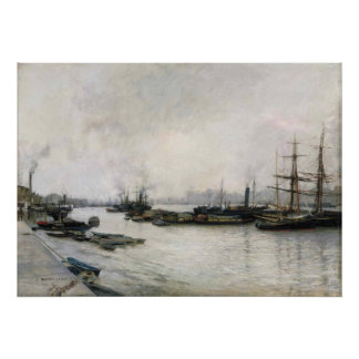 Jules Bastien-Lepage,The Thames Archival Print