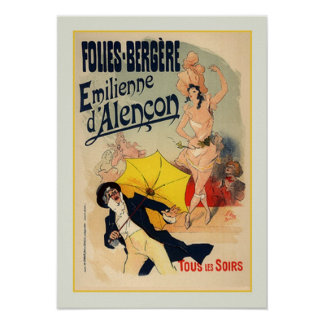 Jules Chéret,advertisment,1890 Poster