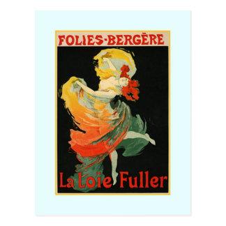 Jules Chéret advertisment,1893 Postcard