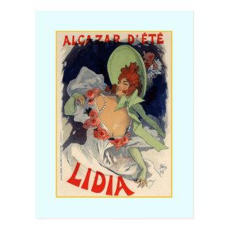 Jules Chéret,advertisment,1895 Postcard