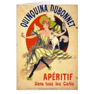 Jules Cheret Art Poster Greeting Card