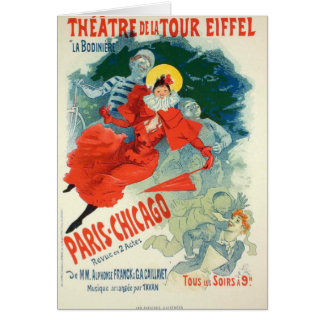 Jules Cheret Art Poster Card