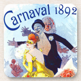 Jules Cheret Carnaval Coasters