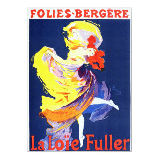 Jules Cheret Folies Bergere Invitations