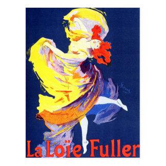 Jules Cheret Folies Bergere Postcard