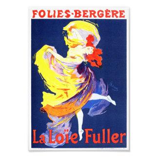 Jules Cheret Folies Bergere Print