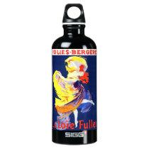 Jules Cheret Folies Bergere Water Bottle