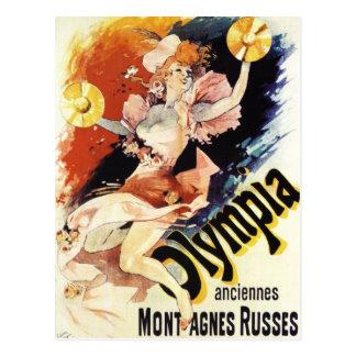 Jules Cheret Olympia Postcard