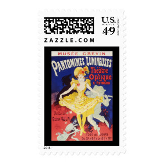 Jules Cheret Pantomimes Lumineuses Postage
