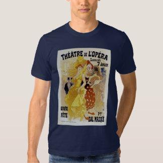 Jules Cheret ~ Theatre de L'Opera Shirt