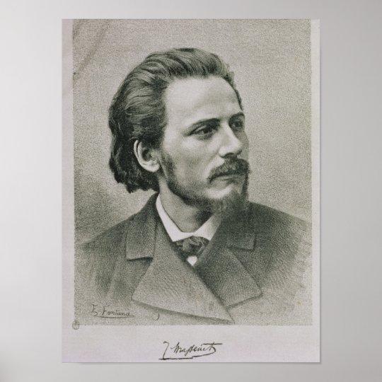 Jules Emile Massenet Poster