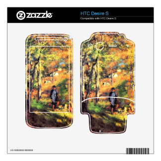 Jules le Coeur and his dogs by Pierre Renoir Decal For HTC Desire S