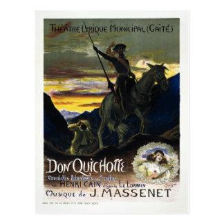 Jules Massenet's Don Quichotte Postcard