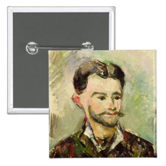 Jules Peyron, c.1885 (oil on canvas) 2 Inch Square Button