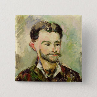 Jules Peyron, c.1885 (oil on canvas) Pinback Button