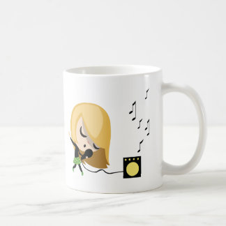 Jules the Singer Coffee Mug