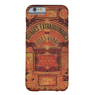 Jules Verne Book Extraordianary Voyages Steampunk Barely There iPhone 6 Case