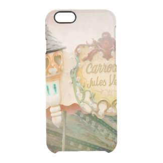 Jules Verne Carrousel Art Clear iPhone 6/6S Case
