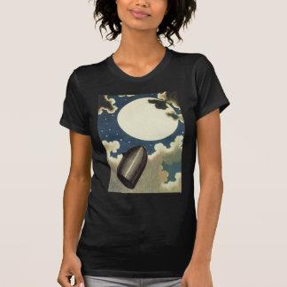 Jules Verne de la tierra a la luna (1865) Camiseta