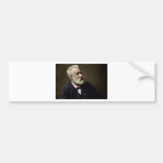 Jules Verne en 1892 Pegatina Para Auto