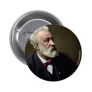 Jules Verne en 1892 Pin Redondo De 2 Pulgadas