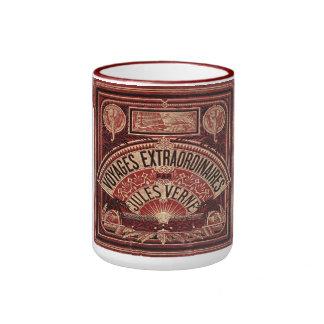 "JULES VERNE ""EXTRAORDINARY VOYAGES"" (1878) RINGER COFFEE MUG"