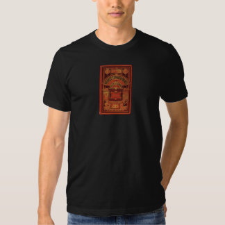 Jules Verne Extraordinary Voyages Book Cover Tee Shirt