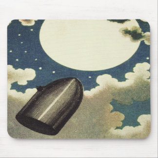 Jules Verne From the Earth to the Moon (1865) Mousepads