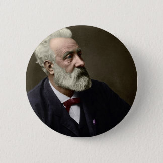 Jules Verne in 1892 Button