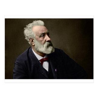 Jules Verne in 1892 Postcard