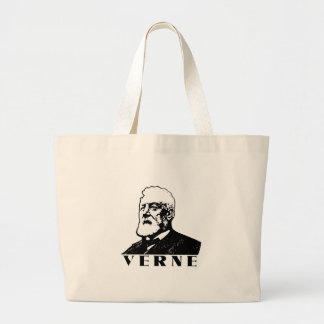 Jules Verne Large Tote Bag