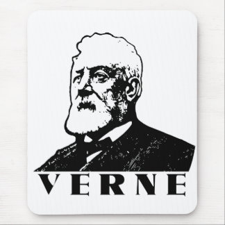 Jules Verne Mouse Pad