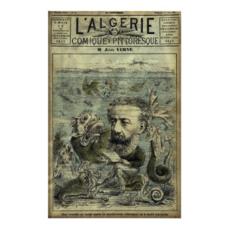 Jules Verne Póster